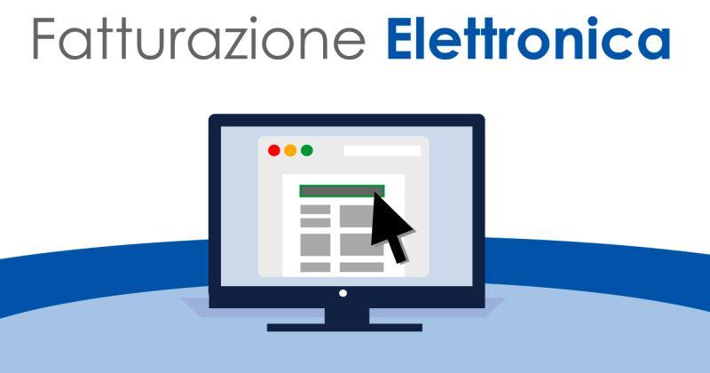 Fatturazione elettronica: avviso ai fornitori