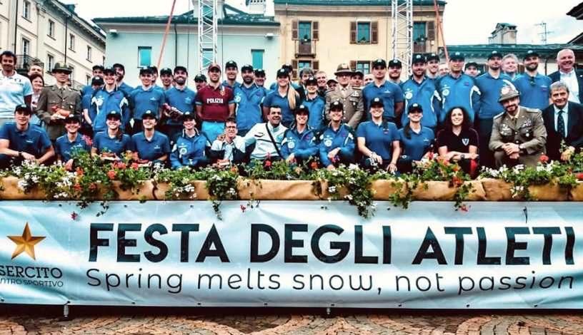 Festa degli atleti del Centro Sprotivo Esercito: riconoscimenti per gli azzurri Fisdir