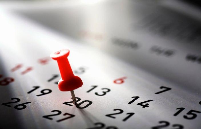 Calendario Nazionale, gli aggiornamenti