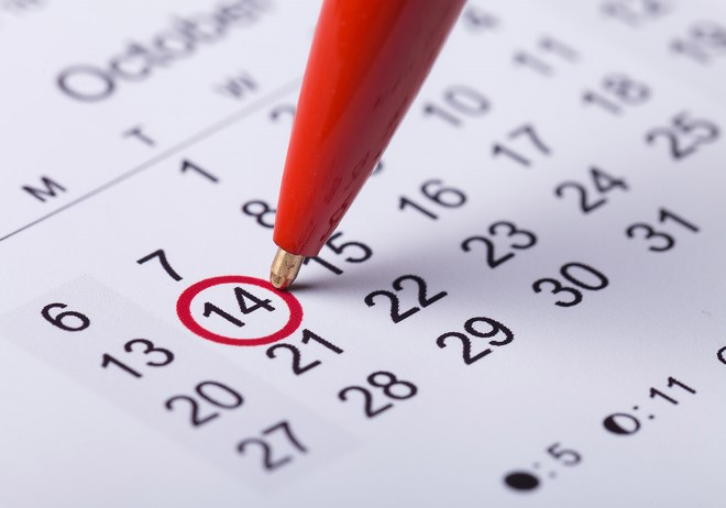 Calendari: tutte le novità con importanti aggiornamenti