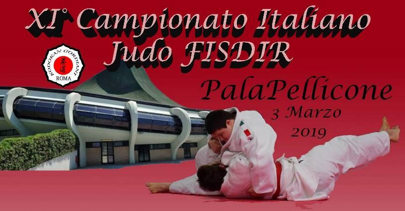 Campionato Italiano di Judo a Ostia domenica 3 Marzo