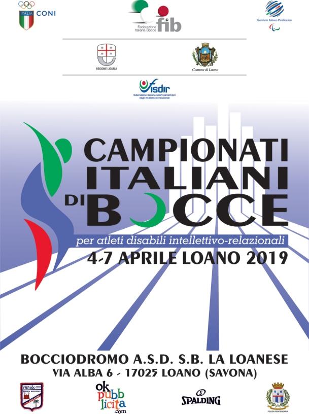 A Loano i campionati italiani FIB-Fisdir