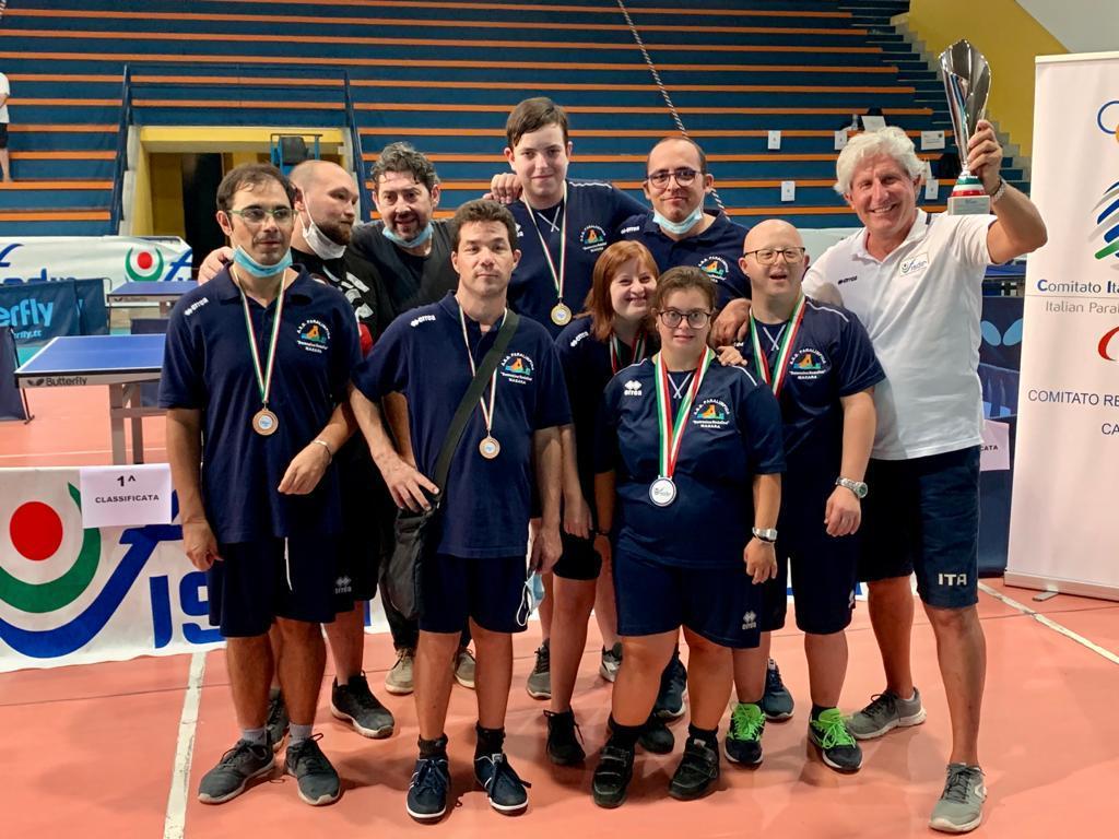 Campionato italiano Tennistavolo, i risultati