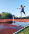 Fabrizio Vallone record nei 3000 siepi