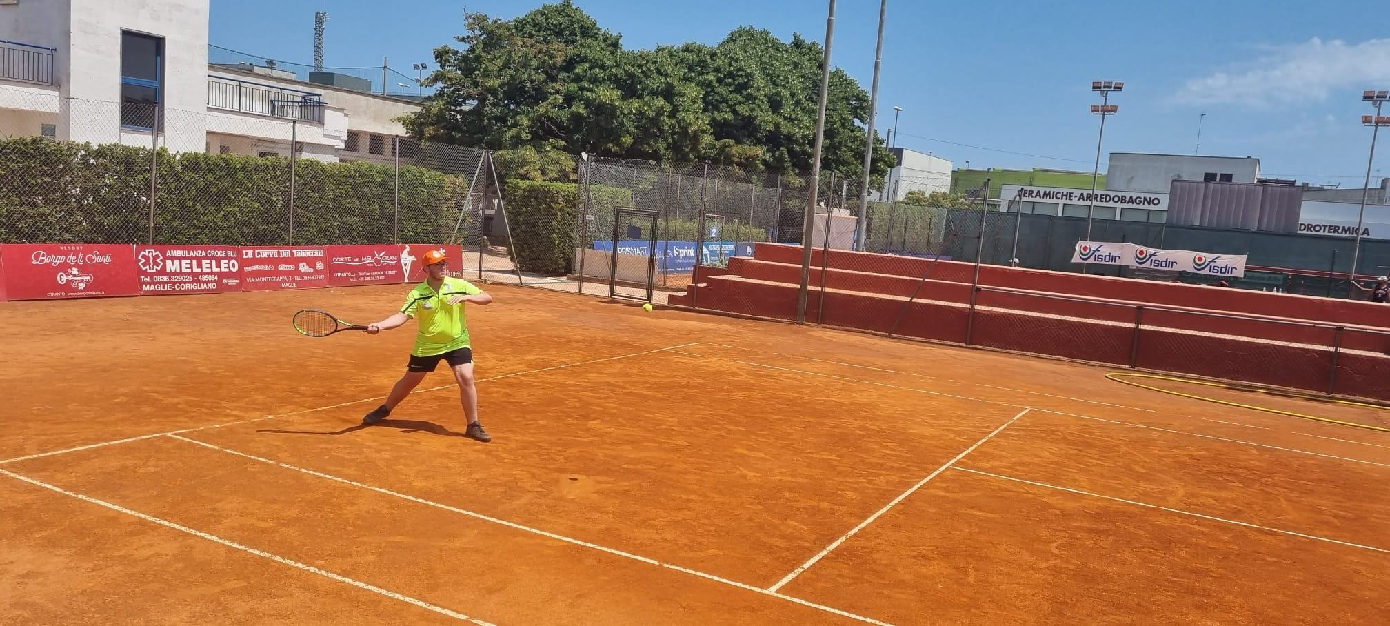 Tennis, i risultati della tappa di Maglie