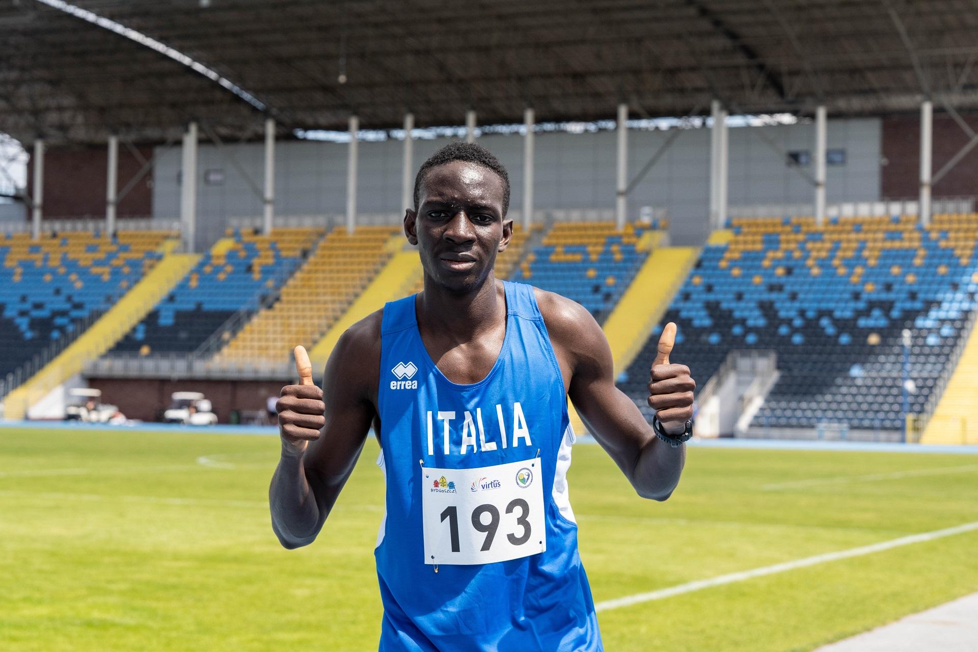 Paralimpiadi Tokyo2020, Dieng in finale nei 400 metri